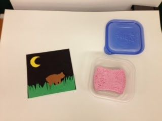 """""""How to use a glue sponge""""  classroom slideshow tutorial.  Perfect for K-5th graders using glue sponges."""