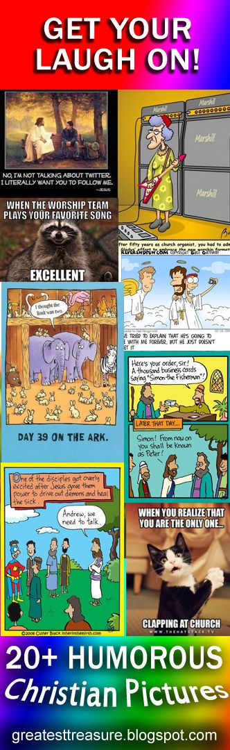 Humorous Christian Pictures - Get Your Laugh On!