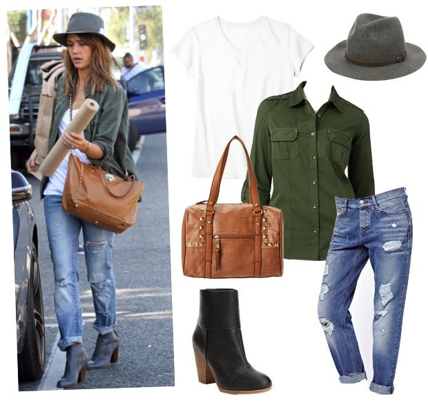 Steal her Look: Jessica Albas Casual Cool Outfit - Viva Fashion Blog