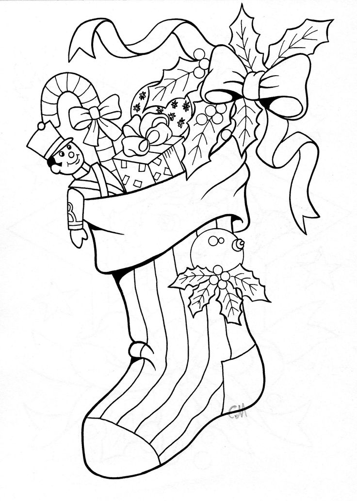Coloring Book Pages For Christmas : 102 best christmas coloring pages images on pinterest