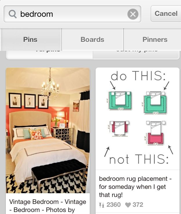 Lol Rug Placement On Left On Right Is A How Not To Place A Rug Coincidence Bedroom