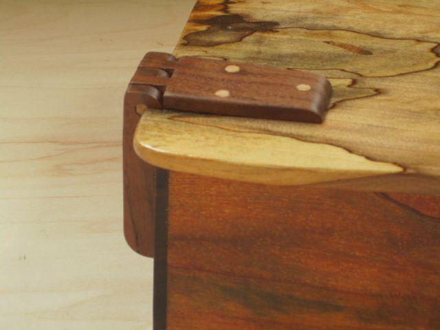 Box Wooden Hinges Lid Hinge Side Woodwork In 2019