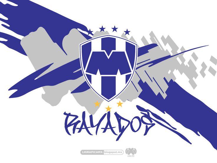 #Rayados @Rayados de Monterrey Oficial #LigraficaMX