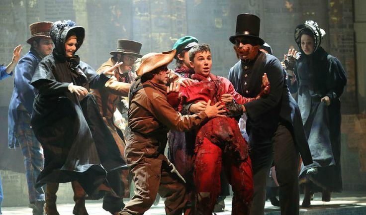 «Oliver Twist le musical», formidable spectable à la Salle Gaveau