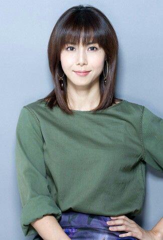 Nanako Matsushima, in a different hair style
