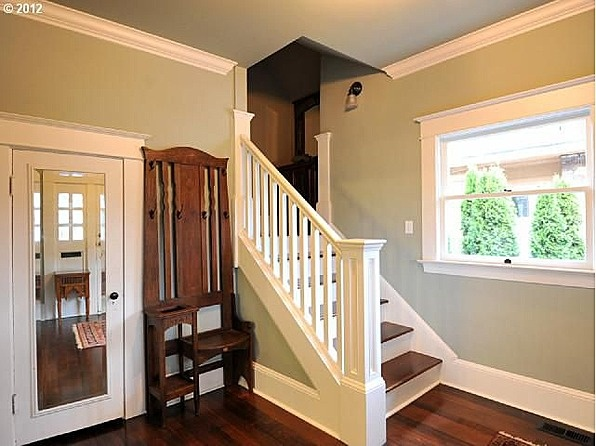 Staircase And A Hall Tree!