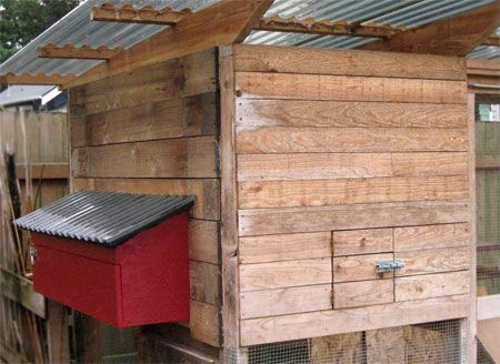 How To Build External Nesting Boxes Chicken Coop The