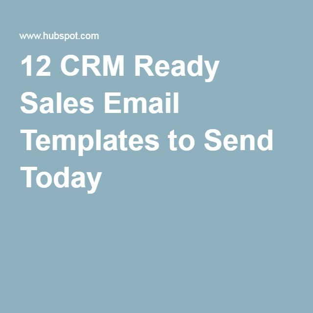 Crm Ready Sales Email Templates To Send Today  Get It Girl