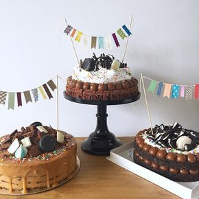 "2,416 Likes, 82 Comments - Kekukis - Pastry Chef (@kekutailhade) on Instagram: ""• Chocotorta Birthday, Brownie Birthday y Oreo madness Birthday •  Pedidos y consultas …"""