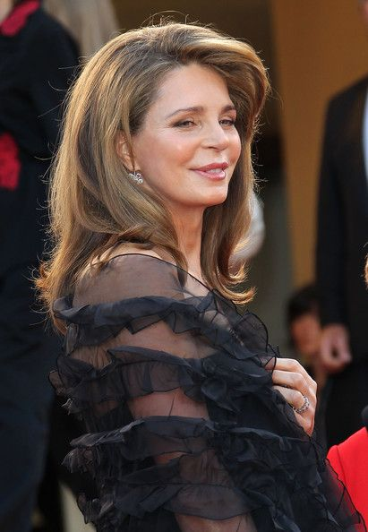 Happy 63rd Birthday Queen Noor born Aug. 23, 1951. I always wanted to be a Queen...maybe I'm old enough now?