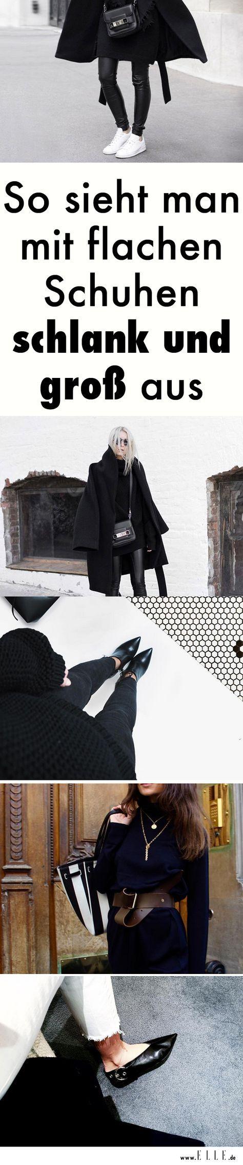 4 Tricks, wie man mit flachen Schuhen schlank und groß aussieht – Sonja Huber