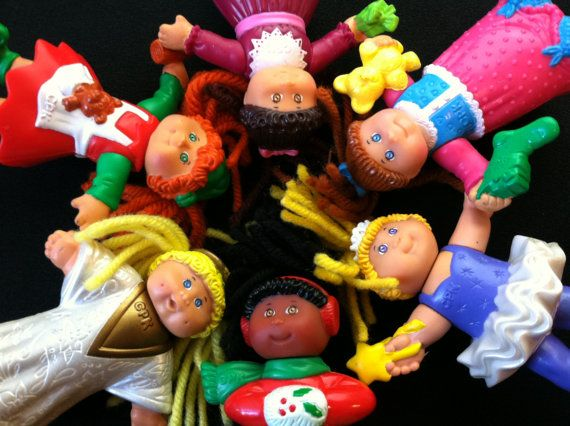 Cabbage Patch Kids McDonalds Happy Meal Toys 1992