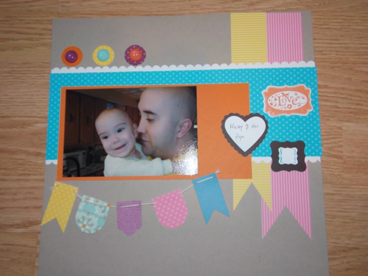 Did this page using the new Stampin Up Hearts a Flutter frames