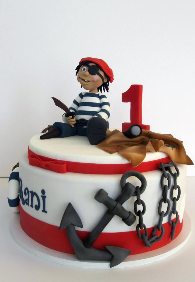 Pirate Cake Ideas & Inspirations                                                                                                                                                                                 More