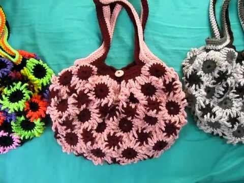 Crochet Flower Purse 6