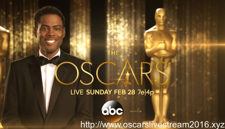 The Oscars Live Stream 2016The 88th Academy Awards ceremony will be held at the Dolby Theatre on February 28, 2016 and hosted by Chris Rock. A total of 2,