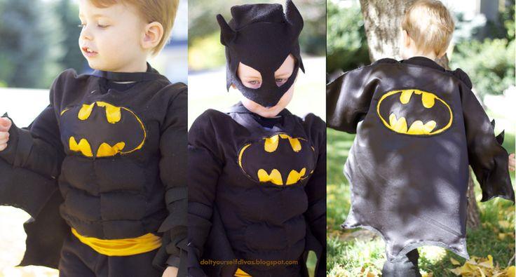 do it yourself divas: DIY: Batman Costume
