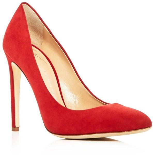 Giuseppe Zanotti Bimba High Heel Pumps (36.290 RUB) ❤ liked on Polyvore featuring shoes, pumps, fiamma red, high heel shoes, giuseppe zanotti shoes, red high heel pumps, high heel court shoes and high heel pumps