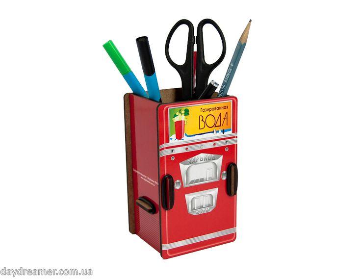 Органайзер для ручек и карандашей Автомат Газированной Воды