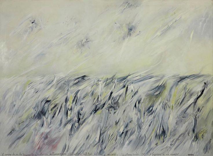 """Mattia Moreni """"Il campo che ne ha veramente abbastanza dell'ammoniaca e dell'acetone dell'ANIC esplode e muore"""" 1969"""