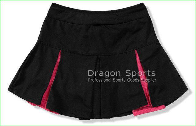 2016 Sports Skirt Girl Pleated Short Skirt Women's Half-length Tennis Ball Culottes Badminton Skirt Shorts Thin