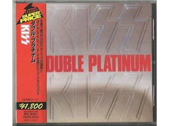KISS - Double Platinum 2-CD JAPAN M/Obi flip & Texter EX/EX