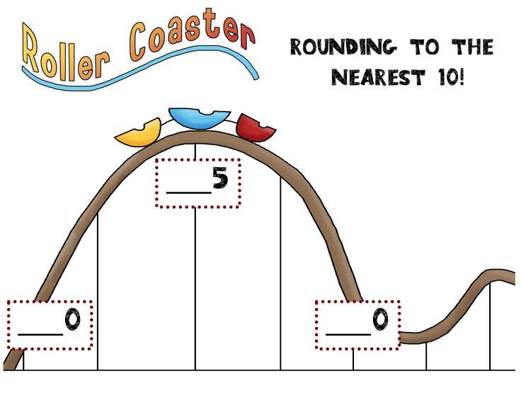 Rounding to the nearest 10 visual: Nearest 10, Teaching Math, Math Ideas, Teaching Ideas, School Stuff, Classroom Ideas, 3Rd Grade
