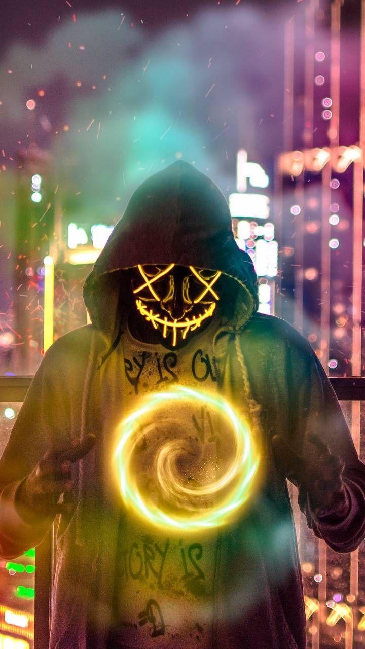 Download Neon Mask Wallpaper By Edeenab4u 21 Free On Zedge Now Browse Millions Of Popular Neon Neon Wallpaper Joker Iphone Wallpaper Graffiti Wallpaper