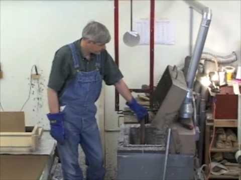 Making and testing a scythe whetstone from Welsh slate - YouTube