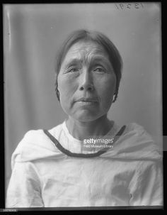 Portrait of an unidentified Inuk from Labrador, Canada at the Louisiana Purchase Exposition, St Louis, Missouri, June 6, 1904.