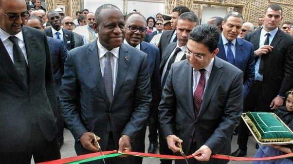 الصحراء المغربية افتتاح القنصلية العامة لكوت ديفوار في العيون In 2020 Suit Jacket Talk Show Suits