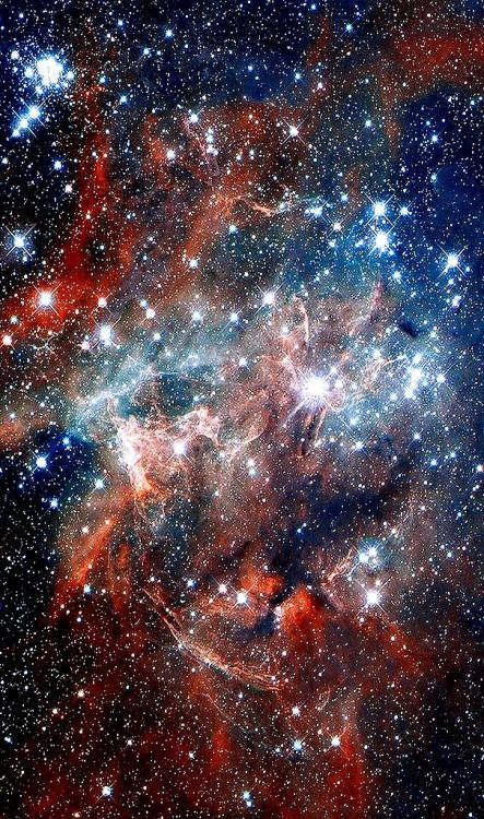 NGC 2060 is a supernova remnant from a supernova that occurred in the Large Magellanic Cloud