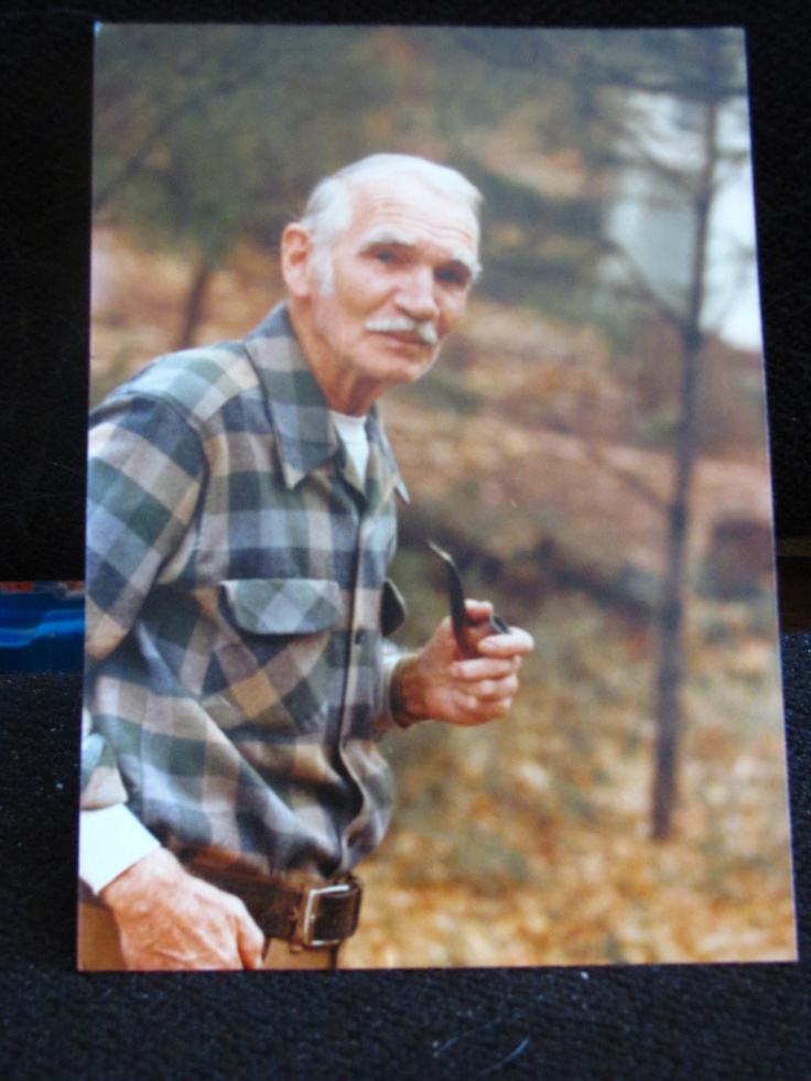 This is my Grandpa Browning on his 100th birthday. He passed this year,2012, at 102