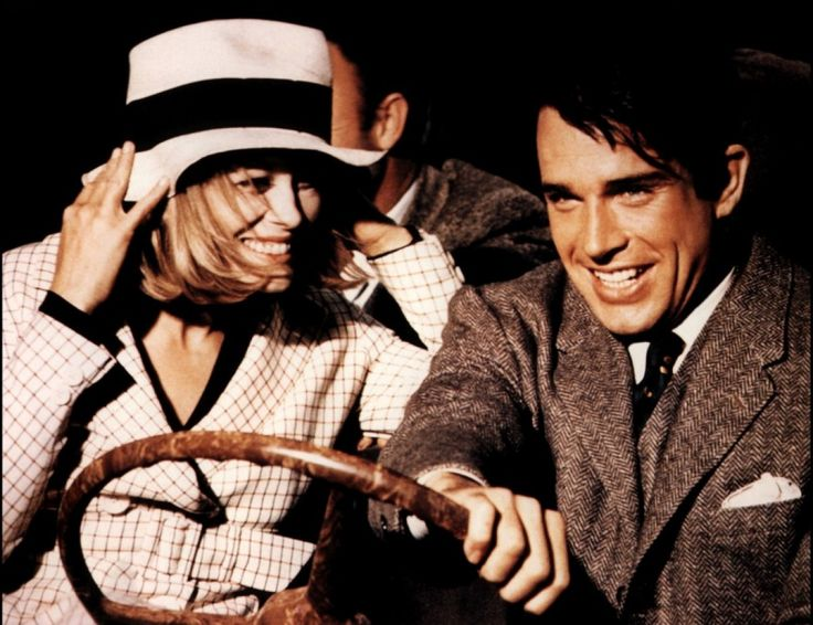 Faye Dunaway e Warren Beatty