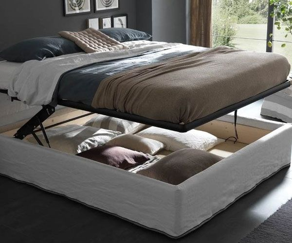 Secret Storage Lifting Bed Good Looking
