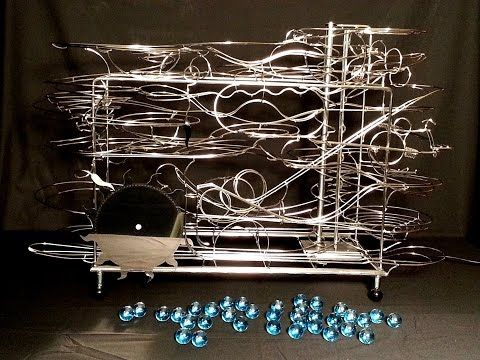 Rolling Ball Sculpture - created by David Morrell - YouTube