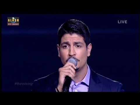 The Voice Of Greece 2 - 4ο Live | Σταυρος Χαλιαμπαλιας [Φεγγαρι μαγια μο...