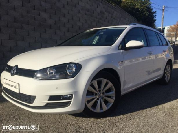 VW Golf Variant 1.6 TDi Best Edition Bluetooth preços usados