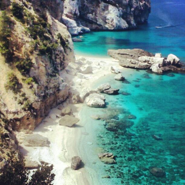Sardegna doesn't need photoshop.  La splendida Capo Mariolu nel Golfo di Orosei . Sardinia, Italy