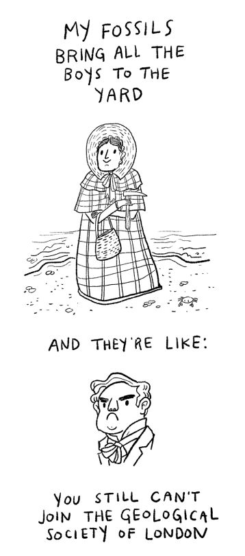 We'll get back to Mary Anning later. Is Kelis' milkshake song a gift to humanity, or what?