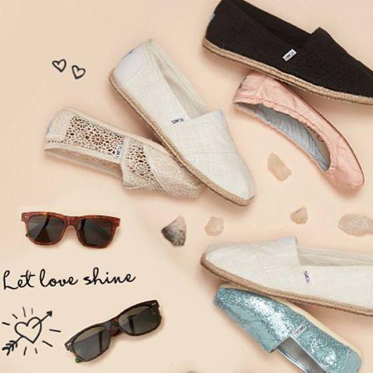 Let love shine #Toms #Summer #Alpargatas #Open24lt #TomsxOpen24lt