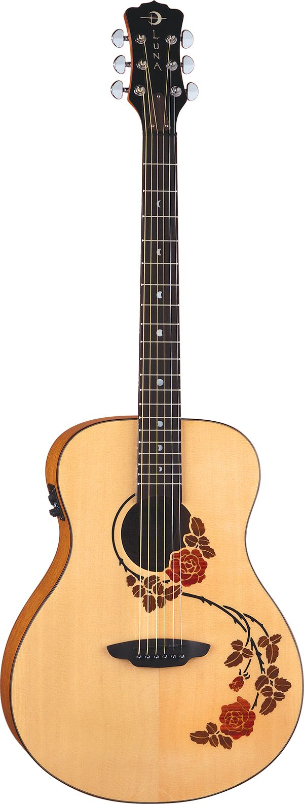 Luna Guitars - Oracle Rose