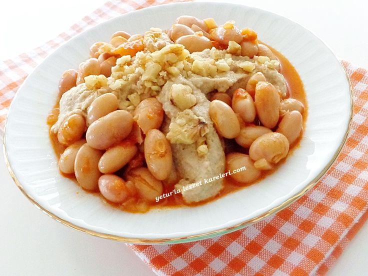 yetur'la lezzet kareleri.com: tahin soslu barbunya pilaki