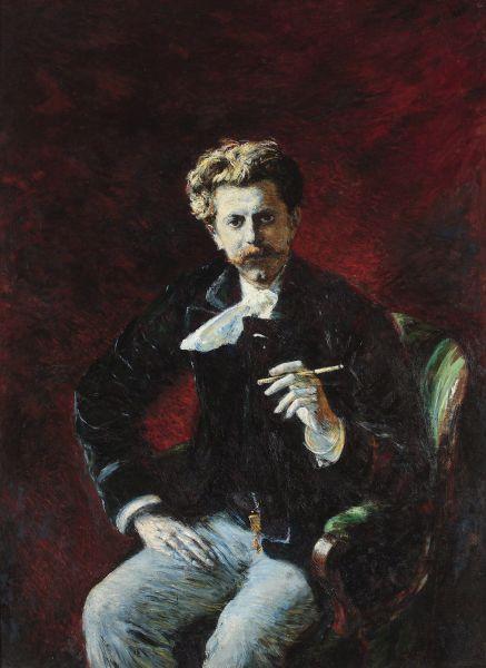 Portret Czesława Jankowskiego - Władysław Podkowiński