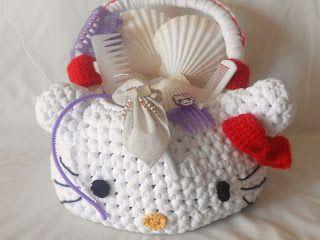 La borsa di Hello Kitty: schema e spiegazioni per realizzarla all'uncinetto