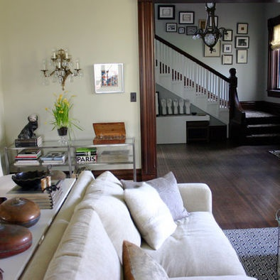 Wall color with dark trim   for the home   Pinterest ...