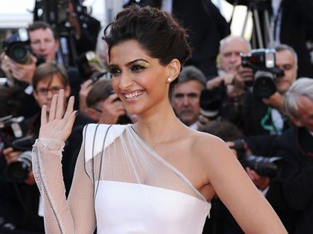 Sonam Kapoor set to play a 'fairytale' princess   Bollywood actress Sonam Kapoor takes the red carpet during the 64th Annual Cannes Film Festival: The Artist Premiere. (AFP) 'Khoobsurat' is being produced by her father Anil Kapoor along with UTV-Walt Disney Studios