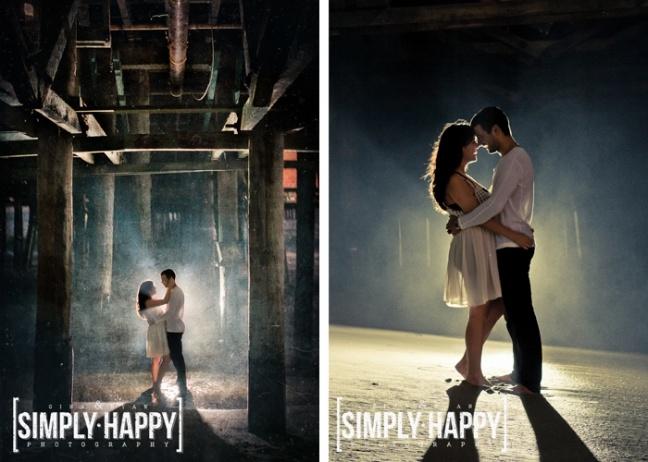 Los Angeles Wedding Photography | Portrait | Couple | Vintage | Romantic | Modern | Engagement | Santa Monica Beach