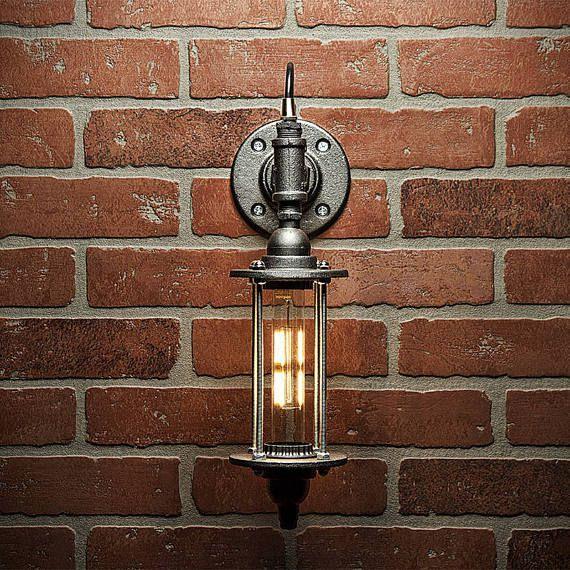 Pipe Light Lighting Pipe Sconce Light Steampunk Lighting