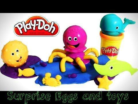 Play Doh Undersea Ocean Tools Playset - Pâte à modeler Outils Océaniques...